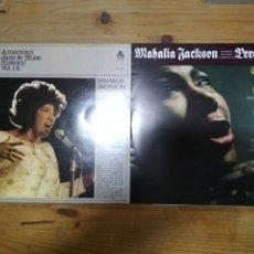 Discos de vinilo: MAHALIA JACKSON 2 LP. Lote 195153051