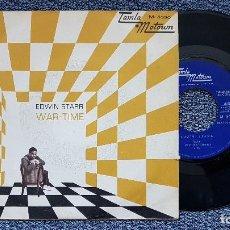Discos de vinilo: EDWIN STARR - WAR / TIME EDITADO POR TAMLA MOTOUM. AÑO 1.970. Lote 195153063