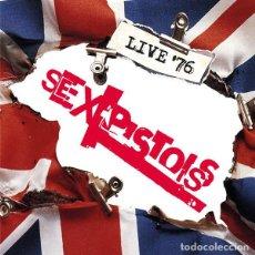 Discos de vinilo: SEX PISTOLS LIVE '76 4XLP BOX SET . SID VICIOUS PUNK ROCK JOHNNY ROTTE. Lote 195155343
