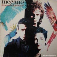 Discos de vinilo: MECANO. DESCANSO DOMINICAL. LP PORTADA SENCILLA CON FUNDA INTERIOR CON LETRAS. Lote 195160208