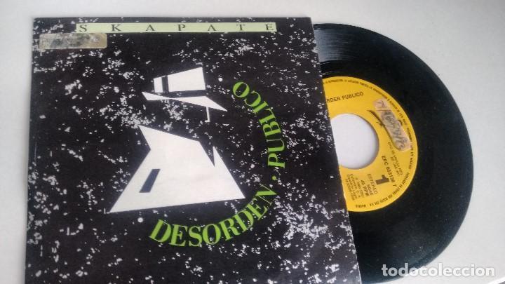 SINGLE ( VINILO)-PROMOCION- DE DESORDEN PUBLICO AÑOS 80 (Música - Discos - Singles Vinilo - Grupos y Solistas de latinoamérica)