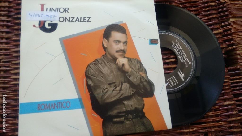 SINGLE ( VINILO) DE JUNIOR GONZALEZ AÑOS 80 (Música - Discos - Singles Vinilo - Grupos y Solistas de latinoamérica)
