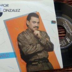 Discos de vinilo: SINGLE ( VINILO) DE JUNIOR GONZALEZ AÑOS 80. Lote 195162686