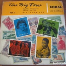 Discos de vinilo: VVAA - THE BIG FOUR VOL 2 ***** RARO EP ESPAÑOL 1958 INC JACKIE WILSON. Lote 195162795