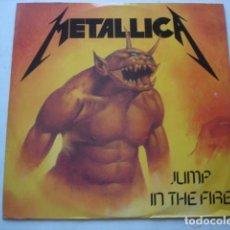 Discos de vinilo: METALLICA JUMP IN THE FIRE. Lote 195163200
