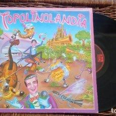 Discos de vinilo: LP ( VINILO) DE RADIO TOPOLINO ORQUESTA AÑOS 80. Lote 195163845