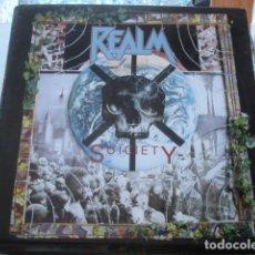 Discos de vinilo: REALM SUICIETY. Lote 195163878