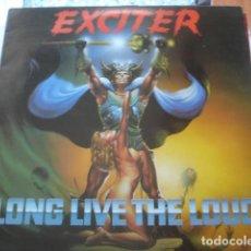 Discos de vinilo: EXCITER LONG LIVE THE LOUD. Lote 195164092