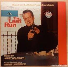 Discos de vinilo: FUGA SIN FÍN (THE LAST RUN) JERRY GOLDSMITH. Lote 195165283