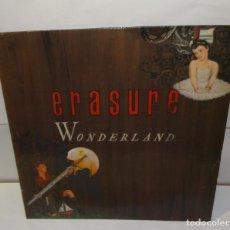 Discos de vinilo: ERASURE WONDERLAND LP 1986 + ENCARTE. Lote 195167518