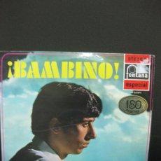 Discos de vinilo: BAMBINO. LP BAMBINO, PICCOLINO. STEREO FONTANA ESPECIAL 701 956 WPY. Lote 195168178