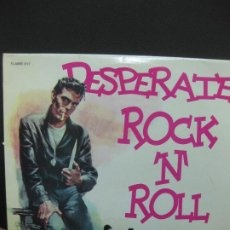 Discos de vinilo: DESPERATE ROCK'N ROLL VOL. 17. FLAME 017.LP.. Lote 195168547