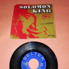 Discos de vinilo: SOLOMON KING. ANSWER ME . DON'T YOU BE A SINNER. BELTER RECORDS. 1971. Lote 195169567