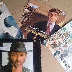 Discos de vinilo: LOTE DE 4 SINGLES ( VINILO) DE EL TURRONERO / EL CABRERO. Lote 195170015
