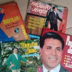 Discos de vinilo: LOTE DE 4 E.P.S ( VINILO) DE PAQUITO JEREZ. Lote 195170193