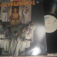 Discos de vinilo: LOS INHUMANOS, PILAR, PARAISO (1985) OG ESPAÑA LEA DESCRIPCION. Lote 195171288
