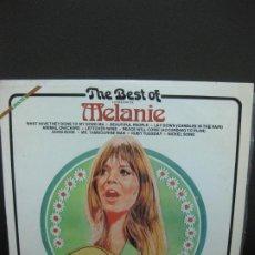 Discos de vinilo: THE BEST OF MELANIE. LP BUDDAH SNL 1-7860. Lote 195171651