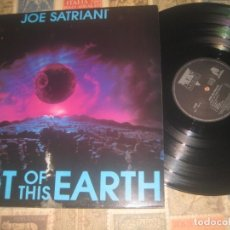 Discos de vinilo: JOE SATRIANI-NOT OF THIS EARTH-( NEW MUSIDISC 1986) OG FRANCIA RARE EXCELENTE CONDICION. Lote 195171890