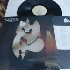 Discos de vinilo: SAXON-LP DESTINY-LETRAS. Lote 195172131