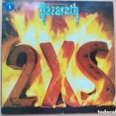 Discos de vinilo: NAZARETH - 2XS (LP) 1982. Lote 195172603