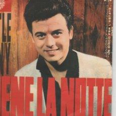 Discos de vinilo: 45 GIRI LITTLE TONY VIENE LA NOTTE CONCORSO RADIOFONICO UN DISCO X L'ESTATE 1965 DURIUM ITALY. Lote 195172663