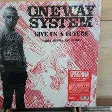 Discos de vinilo: ONE WAY SYSTEM - GIVE US A FUTURE. EARLY SINGLES AND DEMOS. LP VINILO PRECINTADO. PUNK OI. Lote 195172711