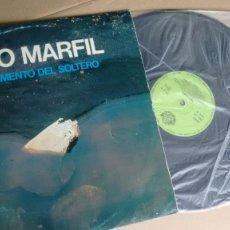 Discos de vinilo: LP ( VINILO) DE DUO MARFIL ( JOSE IGNACIO Y JAVIER ) AÑOS 80. Lote 195173035