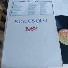 Discos de vinilo: STATUS QUO-LP 1982-LETRAS. Lote 195175633
