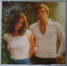 Discos de vinilo: CARPENTERS. HORIZON. LP UK CON CONTRAPORTADA DESPEGABLE + FUNDA INTERIOR LETRAS. Lote 195176121