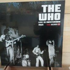 Discos de vinilo: THE WHO - LIVE IN AMSTERDAM 1969. LP VINILO PRECINTADO. Lote 195176311