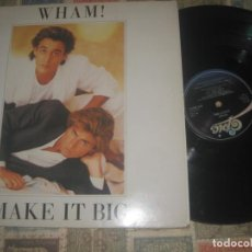 Discos de vinilo: WHAM! ! MAKE IT BIG (1984 CBS)- +ENCARTEOG HOLANDA PEDIDO MINIMO 10 EUROS !!! OCASION. Lote 195176481