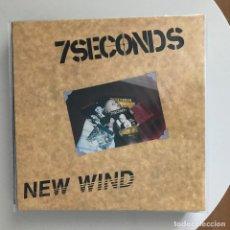 Discos de vinilo: 7 SECONDS - NEW WIND (1986) - LP REEDICIÓN BYO NUEVO. Lote 195177812