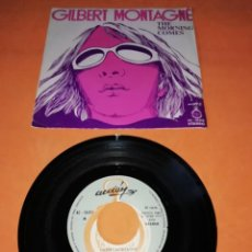 Discos de vinilo: GILBERT MONTAGNÉ. THE MORNING COMES. ACCION RECORDS 1972.. Lote 195177881