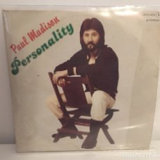 Discos de vinilo: PAUL MADISON-/PERSONALITY,LET'S GET OUT OF HERE/SINGLE 1979 ZAFIRO,ESPAÑA. Lote 195178035