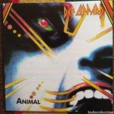 Discos de vinilo: DEF LEPPARD–ANIMAL. Lote 195179228