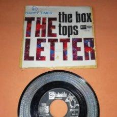 Discos de vinilo: THE BOX TOPS. THE LETTER. HAPPY TIMES. STATESIDE RECORDS 1967. Lote 195179345