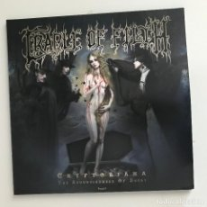 Discos de vinilo: CRADLE OF FILTH - CRYPTORIANA - LP DOBLE NUCLEAR BLAST 2017 - PICTURE DISC. Lote 195179373