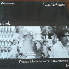 Discos de vinilo: LUIS DELGADO VATHEK LP GRABACIONES ACCIDENTALES 1985. Lote 195180211