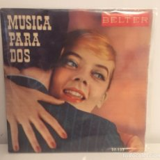 Discos de vinilo: MUSICA PARA DOS VOL.3-/HERBERT REHBEIN Y SU ORQUESTA,ED JOHNSON Y NANCY SCOTT/EP 1959 BELTER,ESPAÑA. Lote 195180548