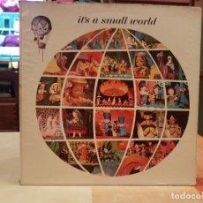 Discos de vinilo: LP ITS A SMALL WORLD NEW ORLEANS SQUARE BUEN ESTADO VER FOTOS. Lote 195180578