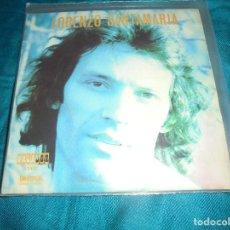 Discos de vinilo: LORENZO SANTAMARIA. POR ESE AMOR + 3. EP. UNIVERSAL, 1974. IMPECABLE (#). Lote 195181803