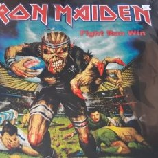 Discos de vinilo: IRON MAIDEN - FIGHT RUN WIN -. Lote 195183841