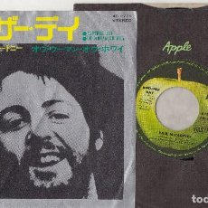 Discos de vinilo: PAUL MCCARTNEY ANOTHER DAY / OH WOMAN OH WHY 1971 JAPAN SINGLE AR-2771 BEATLES JAPON. Lote 195185610