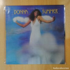 Discos de vinilo: DONNA SUMMER - A LOVE TRILOGY - LP. Lote 195185930