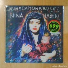 Discos de vinilo: NINA HAGEN - NUNSEXMONROCK - LP. Lote 195186081