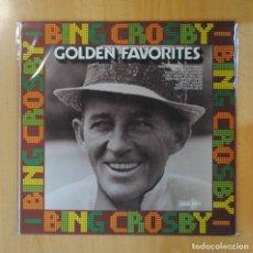 Discos de vinilo: BING CROSBY - GOLDEN FAVORITES - LP. Lote 195186245