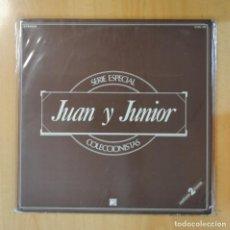 Discos de vinilo: JUAN Y JUNIOR - SERIE ESPECIAL COLECCIONISTAS - GATEFOLD - 2 LP. Lote 195186311