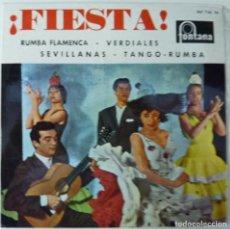 Discos de vinilo: ANTONIO ARENAS // ¡FIESTA¡ // 1962 // EP. Lote 195186453