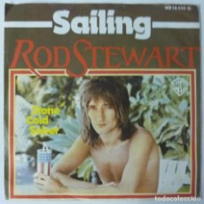 Discos de vinilo: ROD STEWART // SAILING // 1975 // MADE IN GERMANY. Lote 195186551