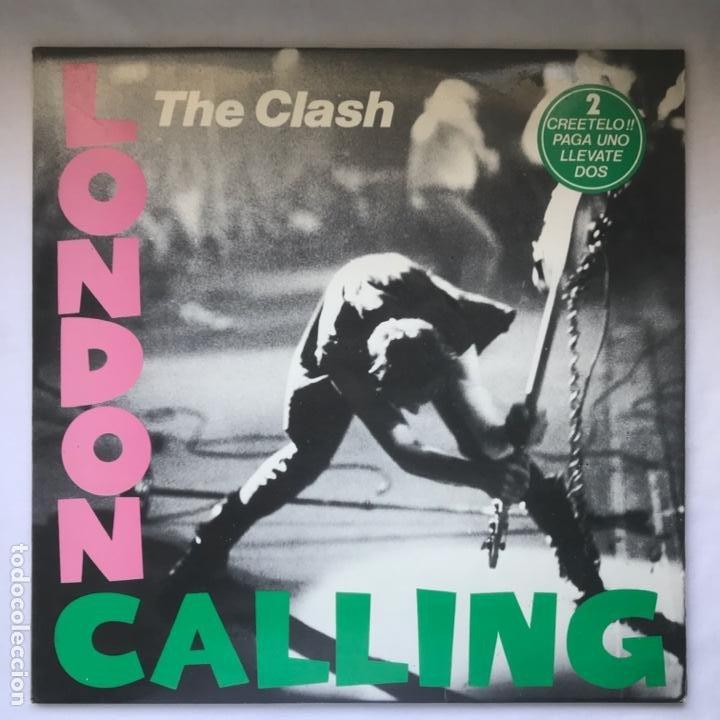 THE CLASH – LONDON CALLING 1980 2LP SIN USO SPAIN (Música - Discos - LP Vinilo - Punk - Hard Core)